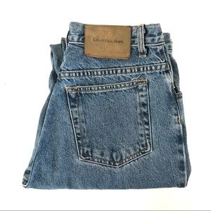 Vintage high waist Calvin Klein Skinny Jeans
